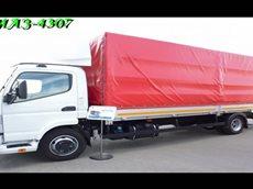 КАМАЗ-4307 Новый конкурент Газели Next и УАЗ Карго.