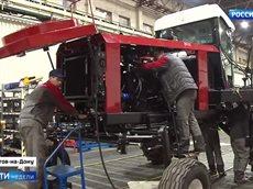 Репортаж по производству тракторов на основной площадке Ростсельмаш.mp4