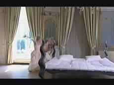 Балет и танец ча-ча-ча!  Танцы на кровати.