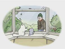 Про кота Саймона. Прикольный мультфильм.