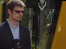 В Москве показали беспилотное такси «Матрёшку».