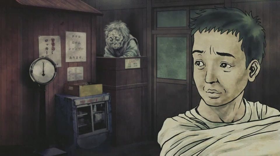 Japanese ghost anime
