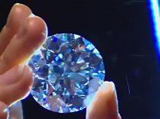 Редкий белый бриллиант весом в 102 карата продадут на аукционе.